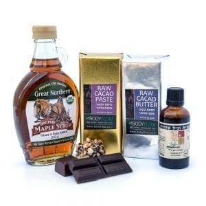 ערכה להכנת שוקולד טבעי raw