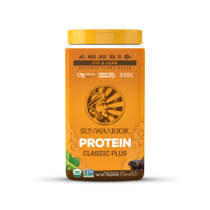 חלבון טבעוני בטעמי וניל ושוקולד