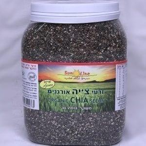 זרעי צ׳יה אורגניים